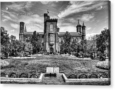 Smithsonian Castle Acrylic Print by Dado Molina
