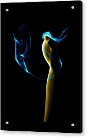 Smoke 2 - Solitude Standing Acrylic Print by Mark Fuller