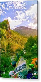 Smoke Hole Canyon Acrylic Print