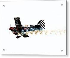 Smoke Rings Acrylic Print by Steven  Michael