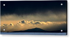 Acrylic Print featuring the photograph Smoke Signals by Silke Brubaker