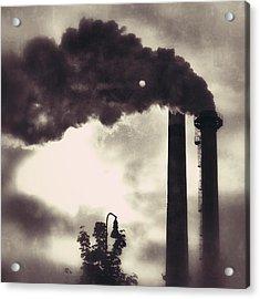 Smoke Stack Acrylic Print