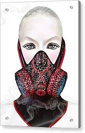 Smoke Acrylic Print by Yosi Cupano
