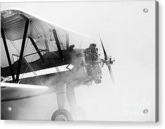 Smoked Engine Acrylic Print by Mkaz Photography
