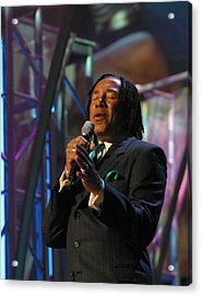 Acrylic Print featuring the photograph Smokey Robinson by Don Olea