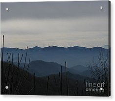 Acrylic Print featuring the photograph Smokies by Jeanne Forsythe