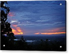 Smokies Sunset 4 Acrylic Print