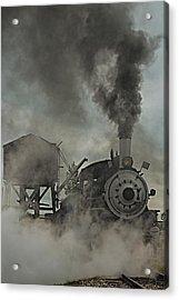 Smokin Engine 353 Acrylic Print by Paul Freidlund