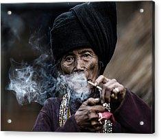 Smoking 2 Acrylic Print
