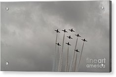Smoking Planes Acrylic Print by Tracey Williams