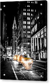Smoking Streets Of New York  Acrylic Print