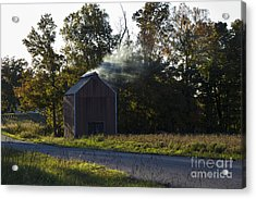 Acrylic Print featuring the photograph Smoking Tobacco by Amber Kresge