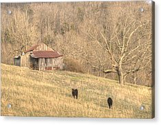 Smoky Mountain Barn 8 Acrylic Print