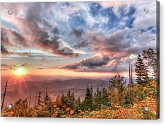 Smoky Mountain Lookout Acrylic Print