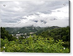 Smoky Mountain Mist Acrylic Print