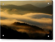 Smoky Mountain Spirits Acrylic Print by Michael Eingle