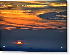 Smoky Mountain Sunset 1 Acrylic Print
