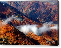 Smoky Mountains Acrylic Print by Arie Arik Chen