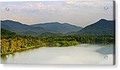 Smoky Mountains Acrylic Print by Frozen in Time Fine Art Photography