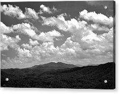 Smoky Peaks And Sky 2 Acrylic Print