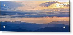 Acrylic Print featuring the photograph Smoky Rise by David Stine