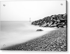 Acrylic Print featuring the photograph Smoky Water. by Gary Gillette