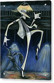 Smooth Criminal Acrylic Print by Tu-Kwon Thomas