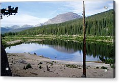 Smooth Lake Reflection Acrylic Print