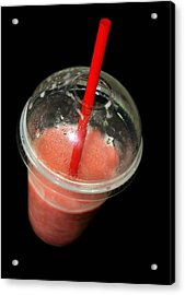 Smoothie Acrylic Print by Diana Angstadt