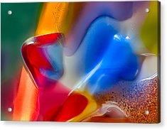 Smurfette Acrylic Print by Omaste Witkowski
