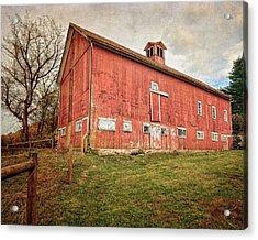 Smyrski Farm  Acrylic Print by Bill Wakeley