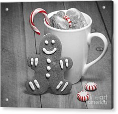 Snack For Santa Acrylic Print