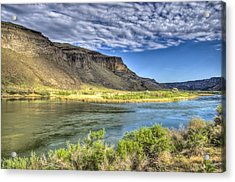 Snake River Afternoon Acrylic Print