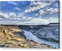 Snake River Canyon Acrylic Print