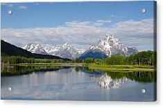 Snake River In Grand Teton  Acrylic Print
