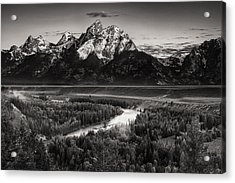 Snake River View Acrylic Print by Andrew Soundarajan