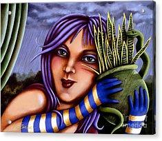 Snake Snakeplant Acrylic Print