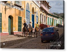 Acrylic Print featuring the photograph Snapshot In Trinidad by Juergen Klust