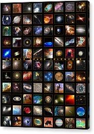 Snapshots Of A Universe Acrylic Print by Nasa