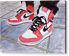Sneakers Acrylic Print by Stan Tenney
