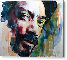 Snoop Dogg Acrylic Print