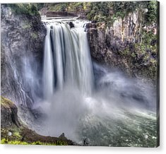 Acrylic Print featuring the photograph Snoqualmie Falls by Chris McKenna