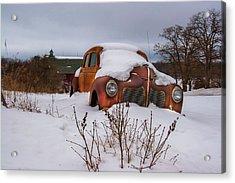 Snow Covered De Soto Acrylic Print