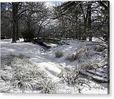 Snow Covered Dream Acrylic Print