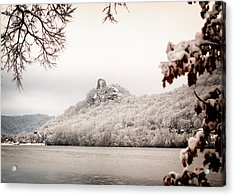Snow Covered Sugarloaf Acrylic Print