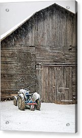 Snow Day Acrylic Print by Cecile Brion
