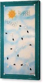 Snow Geese Return Acrylic Print