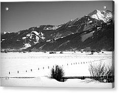 Snow In Piesendorf IIi Acrylic Print