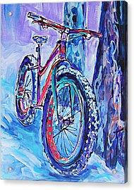 Snow Jam Acrylic Print