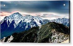 Snow Mountain Acrylic Print by Yew Kwang